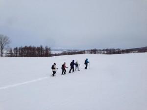 スノーハイキング3