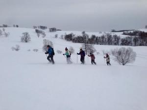 スノーハイキング1