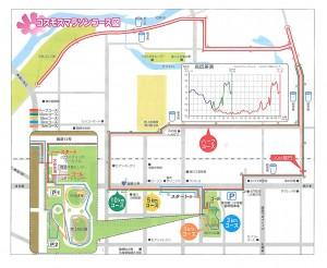 たきかわコスモスマラソン2014 マップ