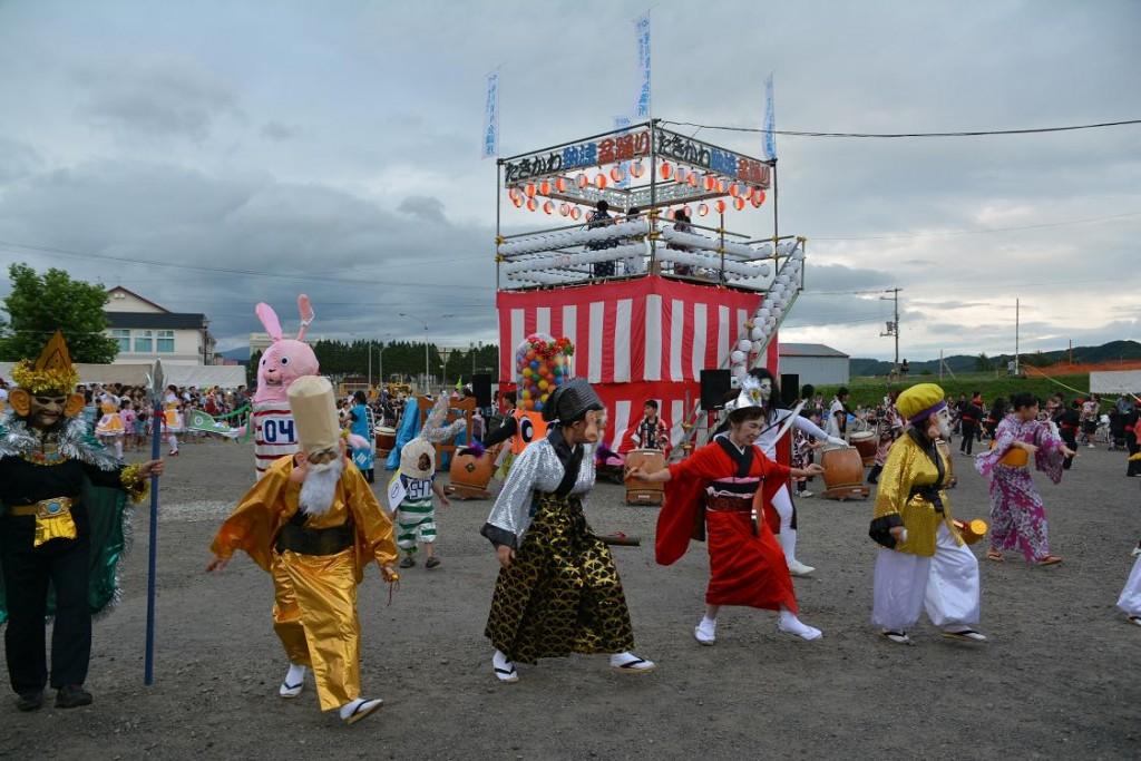 2015たきかわ納涼盆踊り花火大会-2